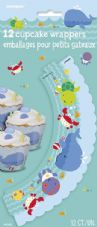 Underwater Creatures Cupcake Wrappers
